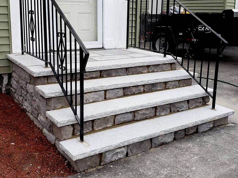 Galizia Masonry and Hardscape Design - Stone steps
