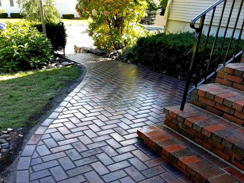 Galizia Masonry and Hardscape Design - Residential Walkways