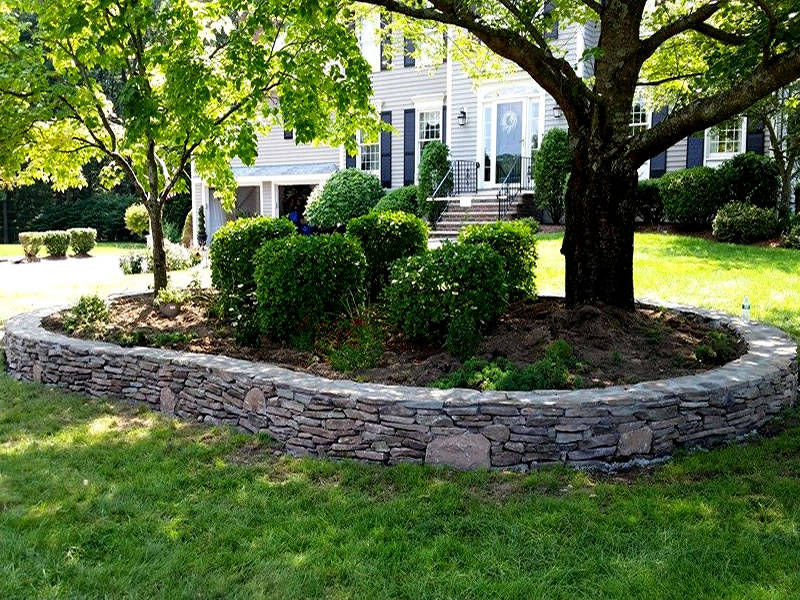 Galizia Masonry and Hardscape Design - Retaining wall